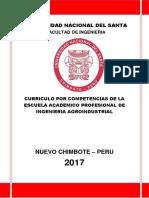Estructura Para El Curriculo 2017 Agroindustria.