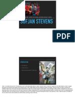 music presentation - sufjan stevens pdf