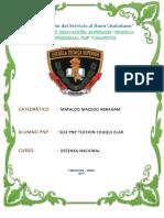 SO3 PNP TOCHON CHUQUI ELAR - N° 2 de Defensa Nacional