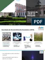 Vocações da cidade de Petrópolis