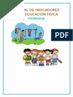 Manual de Indicadores Para Educacion Fisica Primaria