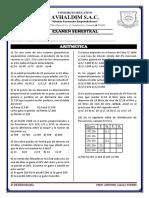 Examen Semestral 5to Arit