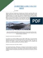 Erupciones de Arequipa