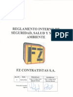 Reglamento Interno Fz Contratistas