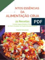 Elementos Essenciais da Alimentação Crua