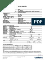 Garlock GYLON Style 3500 Spec Sheet - (NA) 2016-12 EN