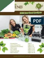Free Raw Food Recipes