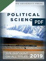 Stanford University Press   Political Science 2019 Catalog