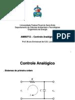 Slide - Controle analógico