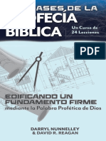 The Basics of Bible Prophecy Spanish