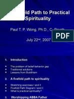 Path to spirituality