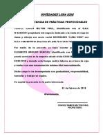 FORMATO DE CONSTANCIA