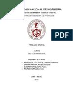 Taller Grupal Analisis de Riesgos Ambientales