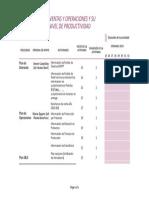 Cronograma de Análisis de Información