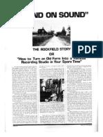 The Rockfield Story
