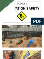 2.3. Excavation Safety
