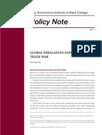 Global Imbalances and the Trade War