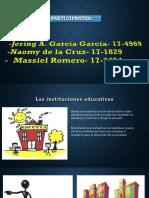 Diapositiva de Ciencia y Educacion