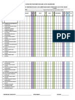 Formatos de Actas Profesores 2019 - 2020
