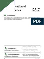 23 7 Applicatn Fourier Series
