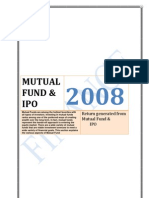 Return Generated Form MF and Its IPO