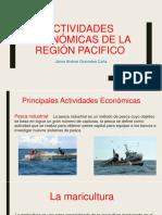 Actividades Económicas de La Región Pacifico- Jaime Andres Granados Caña 7a