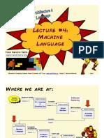 Lecture 04 - Machine Language (FULL)