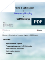 Planning and Optimization of in Gsm
