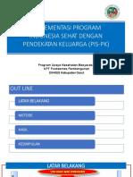 Sosialisasi PIS-PK 2019 Sukagalih