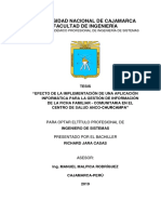 Tesis - Ficha Familiar ministerio de SALUD