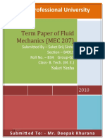 Parameters for Selection of Pumps for Different Applications