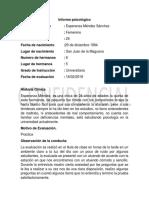 Informe Del 16 Fp
