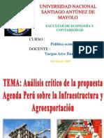 Infraestructura y Agroexportacion