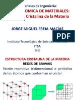 CLASE 2 (Estructura Cristalina de La Materia)
