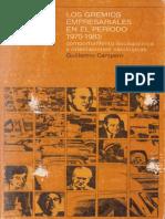 Guillermo Campero-Los gremios empresariales en el período 1970-1983..pdf