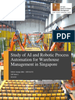 Automation and Robotic Process Automation in Warehouses