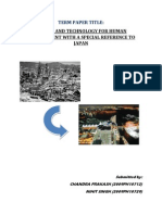 Science and Technology for Human Development With Special Reference to Japan