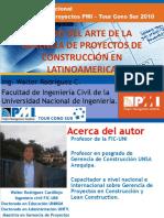 Estado de Gerencia de Proyectos Ing.walter Rodriguez