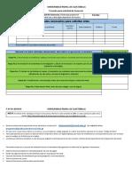 URG formato de solicitud