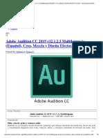 Adobe Audition CC 2019 v12.1.2.3 Multilenguaje (Español)