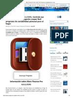 Alzex Finance Pro 6.0.1.5191 Full, Programa Contabilidad Para Casa