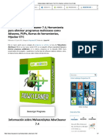 Malwarebytes AdwCleaner Full v7.4, Analizar y Elimina Virus Gratis