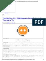 VoiceBot Pro v3.5.1 Multilenguaje (Español), Controla Todo Con Tu Voz