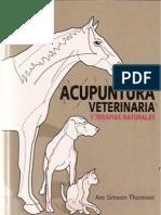 Acupuntura vetterinaria I-Portada, Introduccion e Indice