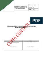 P-pe-01 Plan de Desarrollo v4