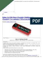 Rufus 3.6.1548 (Beta) (Portable) Multilenguaje (Español)