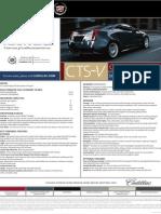 11 Spec Sheet CTS-V Coupe