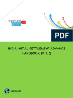 CTS Initial Settlement Advance Policy