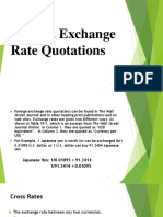 Foreign Exchange Rate Quotations FM11 19-4