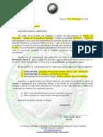 Modelo Carta de Preferencia Ofertiva